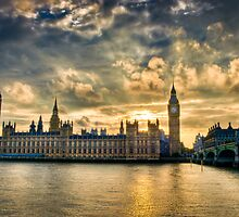 Palace of Westminster - London by skphotography