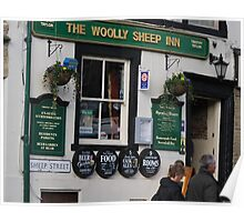 Pub In Skipton Yorkshire, Poster