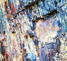 Rocky Abstract by James Zickmantel