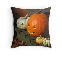 October Fun Throw Pillow