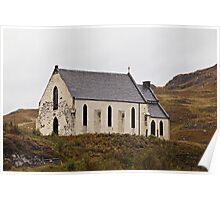 Church of Our Lady of the Braes (A830 road, Inverness-shire, Lochailort, Scotland.) Poster