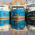"""Blue Reflections"" 