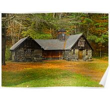 Grist Mill Barn Poster