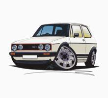 VW Golf (Mk1) GTi White Kids Clothes