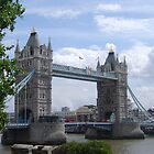 Tower Bridge  by Marsha Free