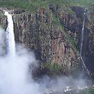 Wallerman Falls- The highest single drop falls in Australia by Donna Macarone