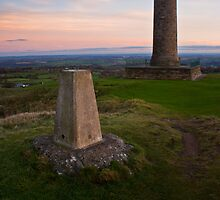Crich Trigpoint Sunset by James Grant
