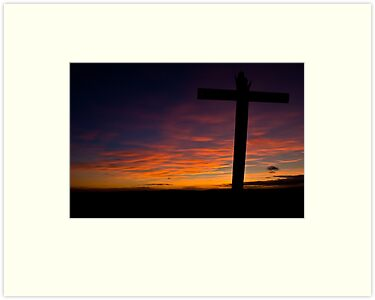 Cross - Memorial - Crich by James Grant