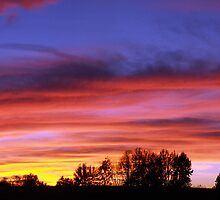 October Sunset in Danville, Virginia by BCallahan