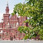 Historical museum - Red Square in Moscow by Asanova