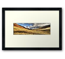 Newlands Valley, Cumbria, England Framed Print