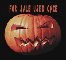 For sale second hand  pumpkin tee design by patjila