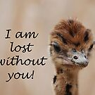 Lost Without You....Card by Carol Barona