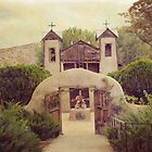 Vintage Santuario de Chimayo Church by Lisa Blair