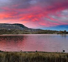 Kolob Reservoir at Sunset by Ryan Houston