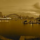 Sepia bay by donnnnnny