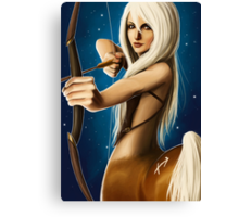The Zodiac: Sagittarius Canvas Print