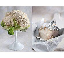 Cauliflower and cheese Photographic Print