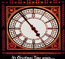 Its Christmas Time Again - Xmas Card by Deb Gibbons