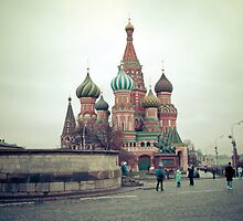Red Square in November by Asanova