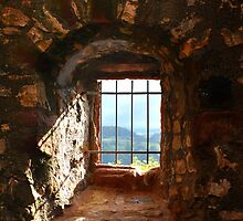 The Window at Burg Rötteln  by Gayle Dolinger