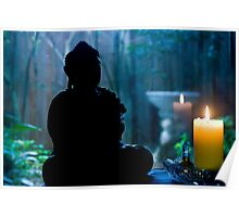 Buddha's Garden Poster