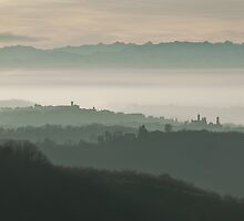 Piedmontese Landscape by Karen Havenaar
