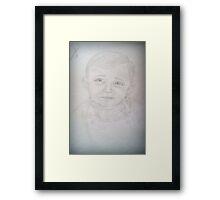 My Xander-man Framed Print