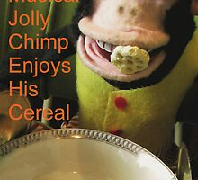 Musical Jolly Chimp Enjoys his Cereal (text version) by Margaret Bryant