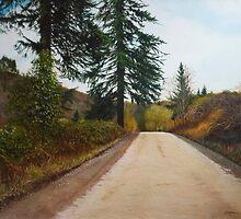 Country Road by Richard Ferguson