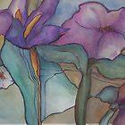 Iris zen by Ellen Keagy