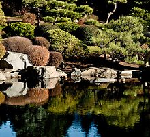 Japanese gardens of the Denver Botanic gardens by Greg Summers