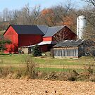 A Farm in the Fall by Geno Rugh
