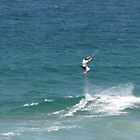 Hang time on Palm Beach by Neil Crittenden