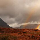 Glen Coe rainbow by Rachel Slater