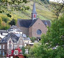 A Church in Cochem by Gayle Dolinger