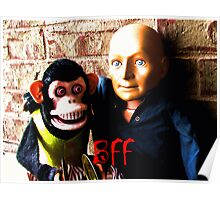 Hugo and Jolly Chimp: BFF Poster