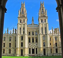 All Souls College, Oxford by RedHillDigital