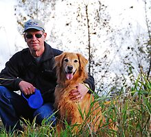 My Man and Our Dog by Jennifer Hulbert-Hortman