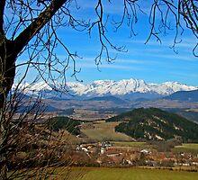 French Alps Heaven by Al Bourassa
