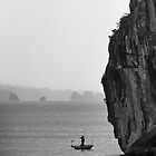 Fishing in Halong Bay by Anthony and Kelly Rae