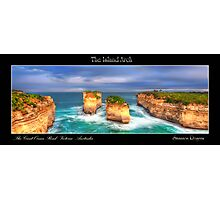 The Island Arch Photographic Print