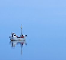 Stillness - A Ship in Still Waters by VArt