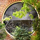 Beautiful round window on one of my walks. by EdsMum