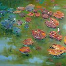 Lily Pond by Claudia Hansen