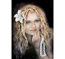 Steffi mermaid Photographic Print