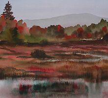 autumn study - i by Joel Spencer