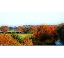 Cross Country -Dorset Photographic Print