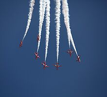 Red Arrows by Tony Roddam