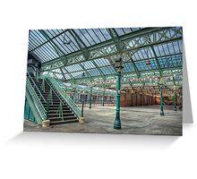 Tynemouth Metro Station Greeting Card